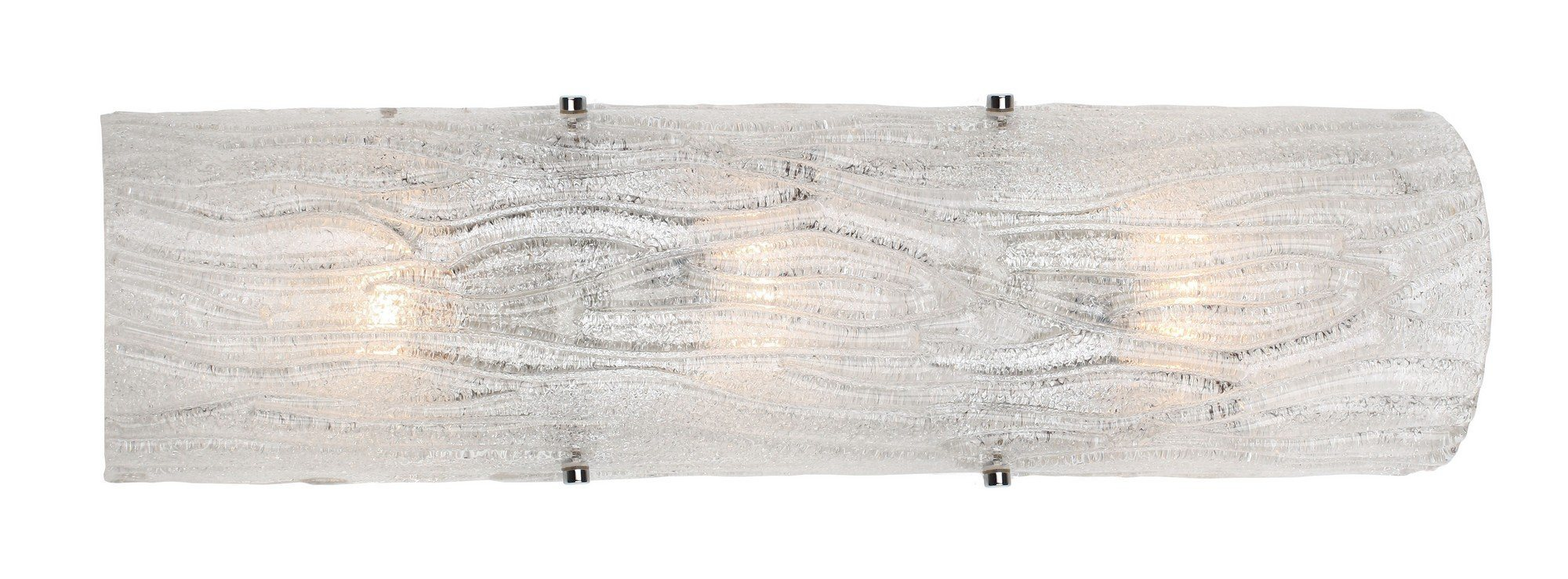 Brilliance 3-Lt Sconce Fixture - Chrome Wall Varaluz