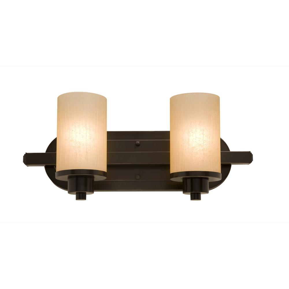 "Parkdale 12""w Oil Rubbed Bronze Bathroom Vanity Wall Artcraft"