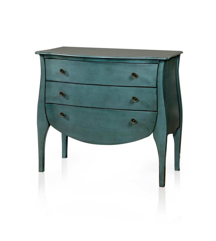 Stella 3-Drawer Chest Blue Furniture Enitial Lab