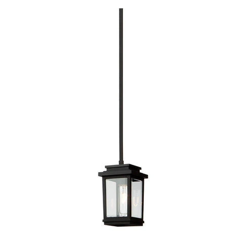 "Freemont 5""w Black Outdoor Ceiling Light"