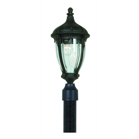 "Anapolis 22""h Oil Rubbed Bronze Outdoor Post Light"