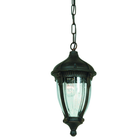"Anapolis 19""h Oil Rubbed Bronze Outdoor Ceiling Light Outdoor Artcraft"