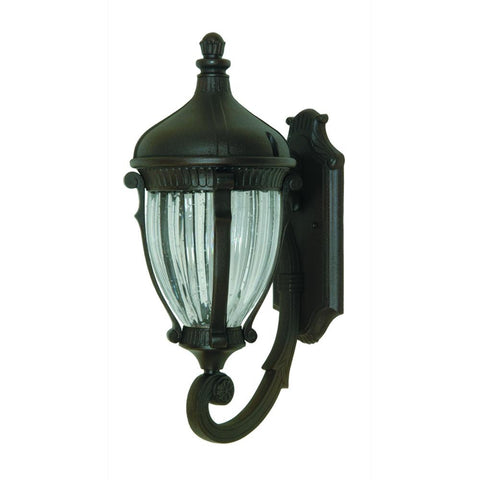 "Anapolis 27""h Oil Rubbed Bronze Outdoor Wall Light"