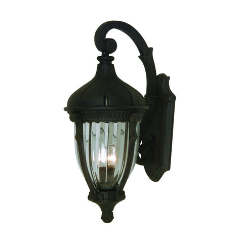 "Anapolis 34""h Oil Rubbed Bronze Outdoor Wall Light"