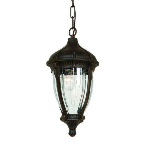 "Anapolis 16""w Oil Rubbed Bronze Outdoor Hanging Light"