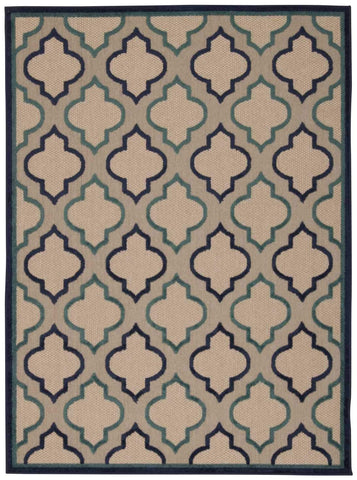 Aloha Navy Indoor/Outdoor Rug - 5 Sizes Available