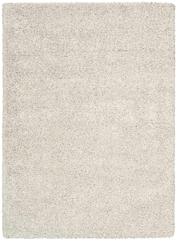 "Amore Bone Shag Area Rug 3'11"" x 5'11"" Rugs Nourison 3'11"" x 5'11"" Accent"