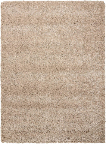 "Nourison Amore Oyster Shag Area Rug 3'11"" x 5'11"""