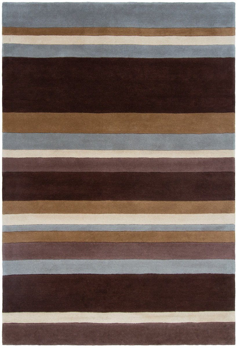 Antara 106 7'9 Round Brown Rug Rugs Chandra Rugs
