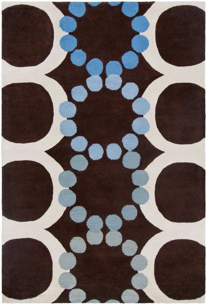 Avalisa 6111 7'9x10'6 Brown Rug Rugs Chandra Rugs