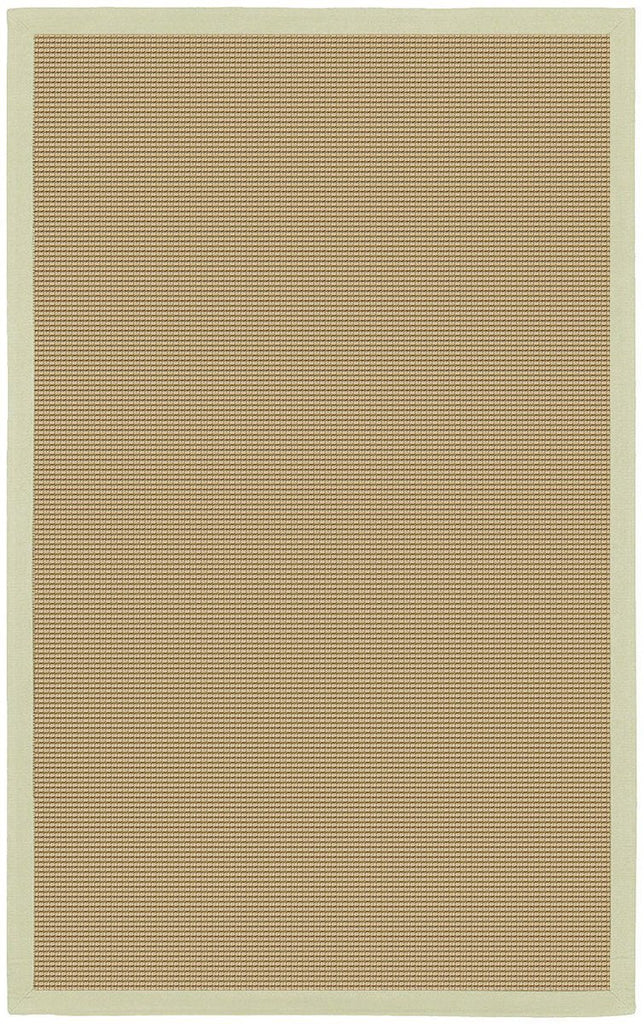 Bay Collection Green 8'Square Beige Rug Rugs Chandra Rugs