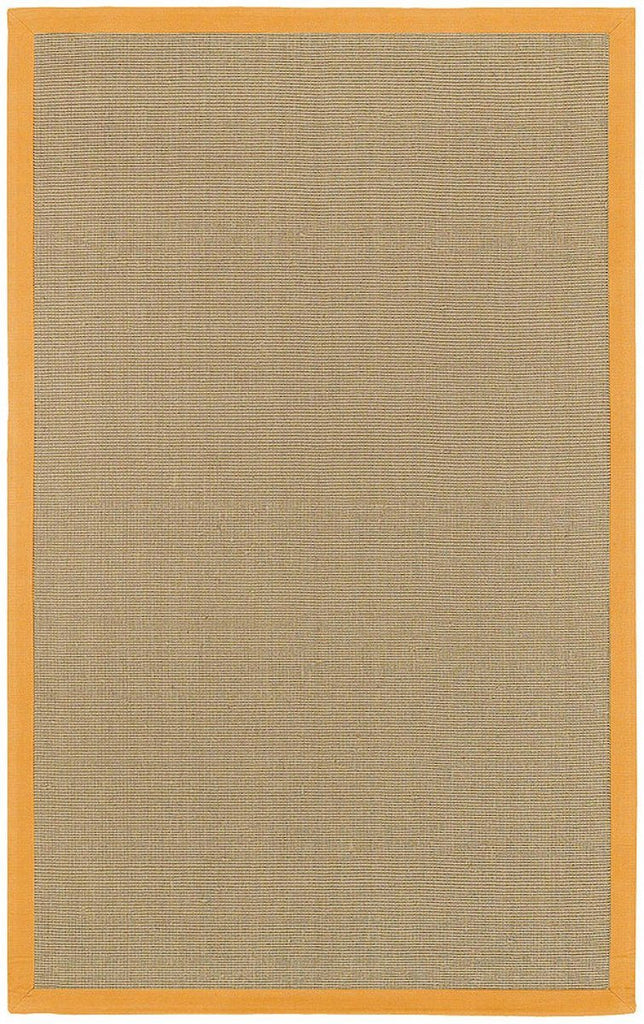 Bay Collection Orange 7'9 Round Beige Rug Rugs Chandra Rugs