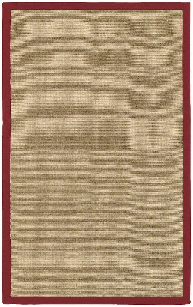 Bay Collection Red 9'x13' Beige Rug Rugs Chandra Rugs