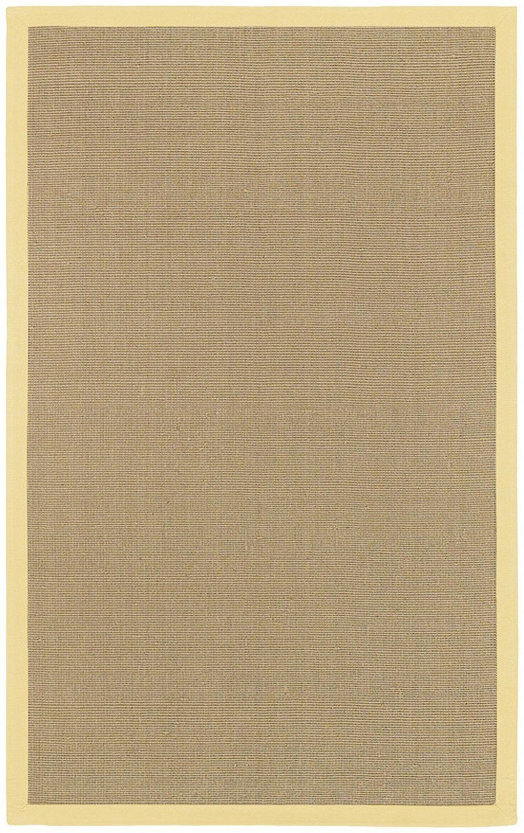 Bay Collection Yellow 8'x10' Beige Rug Rugs Chandra Rugs