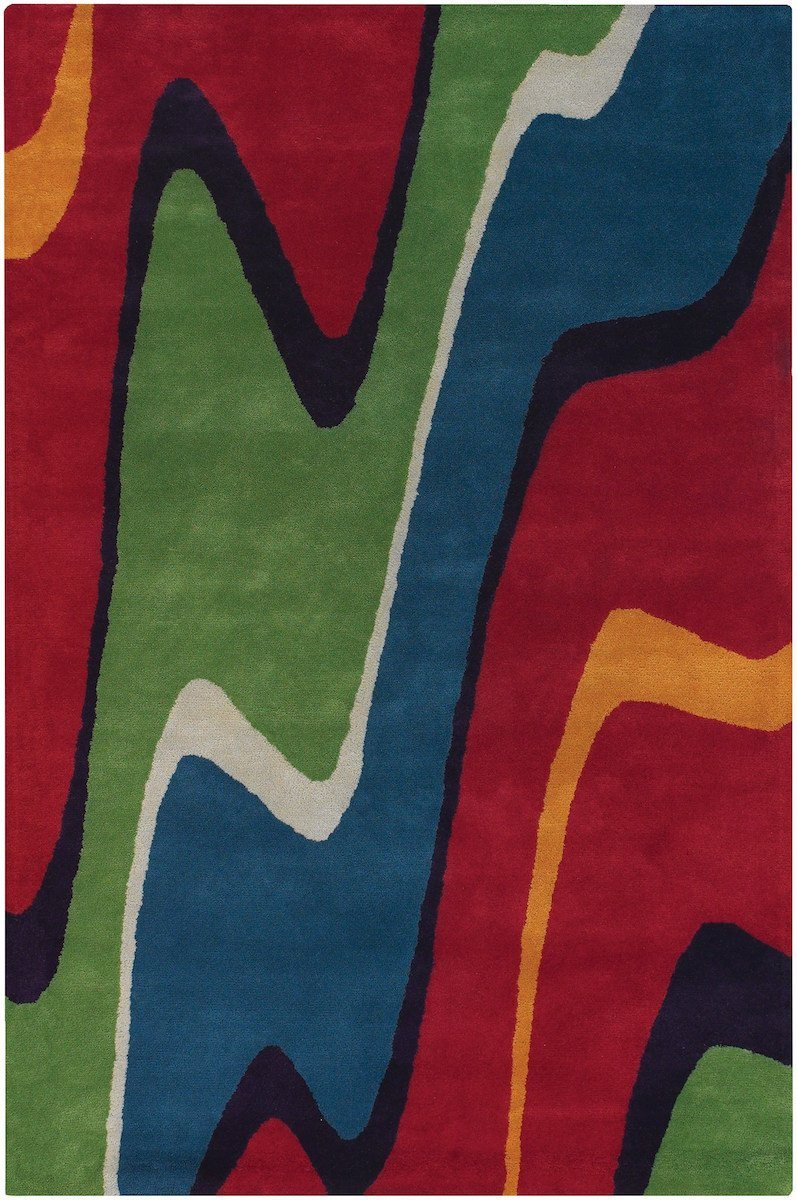 Bense Garza 3001 5'x7'6 Multicolor Rug Rugs Chandra Rugs