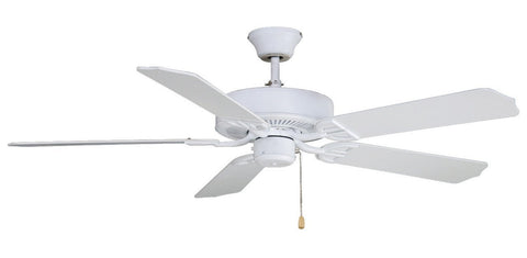 "Aire Decor 52"" 220V Ceiling Fan - Matte White"
