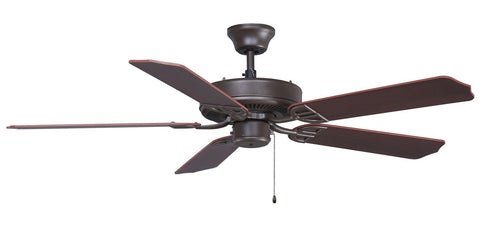 "Aire Decor 52"" 220V Ceiling Fan - Oil Rubbed Bronze"