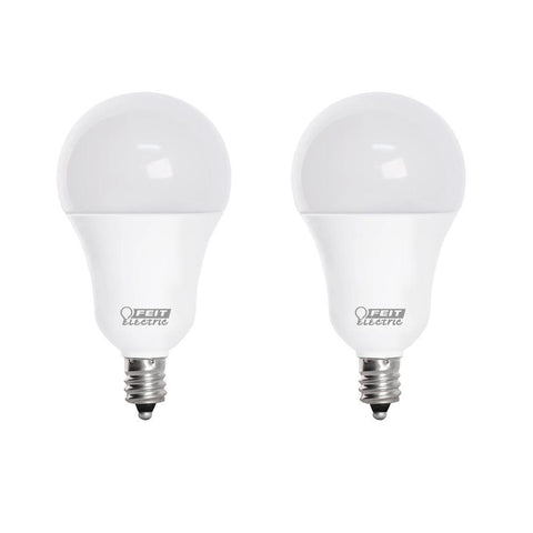 LED A15 40W Equiv., 450 Lumens, Filament Clear Glass, Medium Base, 5000K,  10 Pk
