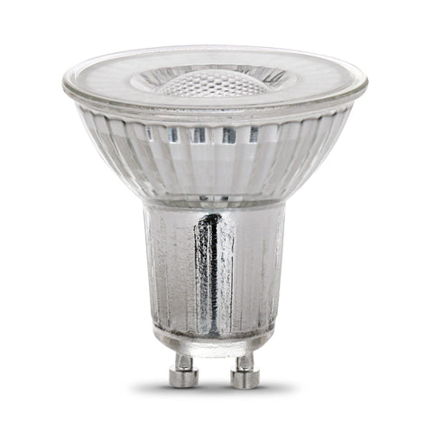 LED MR16 GU10 35W Equiv., 300 Lumens, Dimmable, 25000 Life Hours, 3000K, 3PK Bulbs Feit Electric
