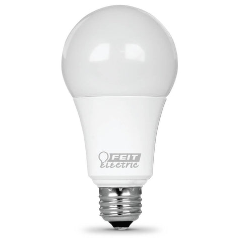 Feit Electric A19 100 Watt Equiv., LED Dimmable, Omni, 1600 Lumen, 3000K