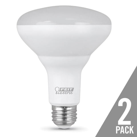 A19 40 Watt Equiv., 10 Year, 11K, Non-Dimmable LED, 450 Lumen, 2700K, 2 Pk