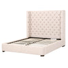 Barclay Standard King Bed - Bisque