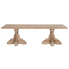 Bastille Rectangle Dining Table - Smoke Gray