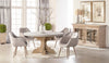 "Bastille 60"" Round Dining Table Top - Light Gray"