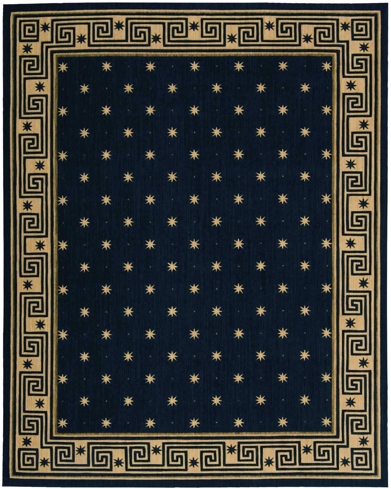 "Cosmopolitan Midnight Rug - 6 Size Options Rugs Nourison 3'6"" x 5'6"" Accent"