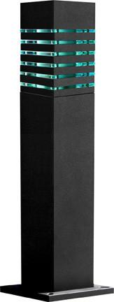 "Steel 42""h Bollard - 3 Finish Options Outdoor Dabmar"