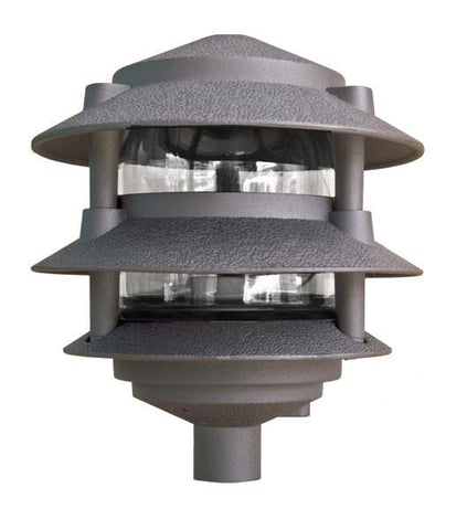 Dabmar Cast Aluminum Three Tier Pagoda Light 120V