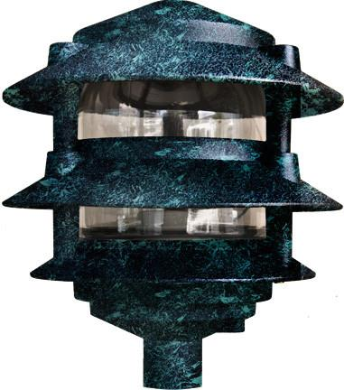 Cast Aluminum Three Tier Pagoda Light