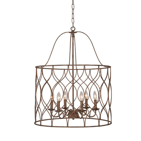 Tabby 6-light Round Chandelier