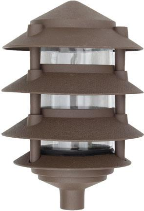 Dabmar Cast Aluminum Four Tier Pagoda Light 120V