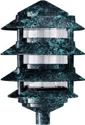 Cast Aluminum Four Tier Pagoda Light