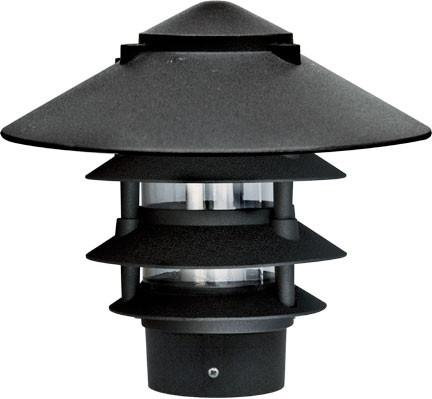 Cast Aluminum Four Tier Pagoda Light 120V
