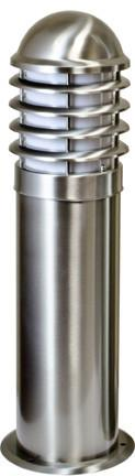 "Marine Grade 42""h Stainless Steel Bollard - Multiple Bulb Options Outdoor Dabmar"