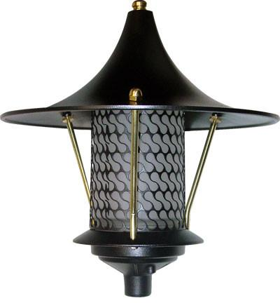 Cast Aluminum Flair Top Pagoda Light 120V
