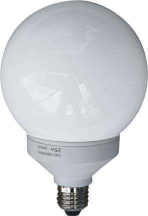 Dabmar 11 Watt Globe Med Base Lamp DL-GB14-11/64K
