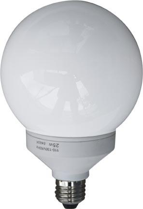 Dabmar 11 Watt Globe Med Base Lamp DL-GB14-11/27K