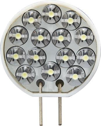 Dabmar White LED G4 Base 0.7 Watt 14 LEDs 12V DL-JC-LED/14/65K/W