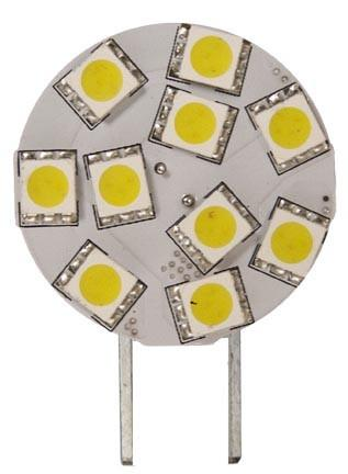 Dabmar Bi-Pin Small Plate 10 LEDs 2.4 Watt 12V DL-LED-G4P/2.4/64K