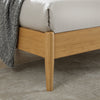 Ria Eastern King Platform Bed - Caramelized