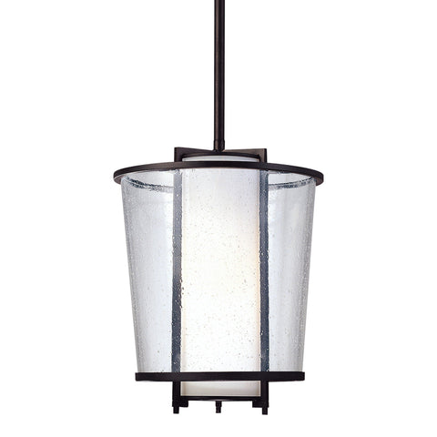 Bennington 1 Light Pendant - Forged Bronze Outdoor Troy