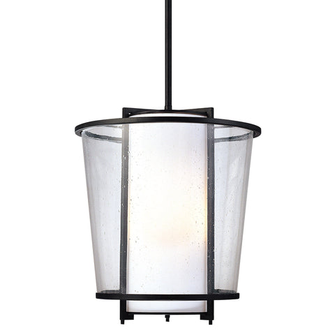Bennington 3 Light Pendant - Forged Bronze Outdoor Troy