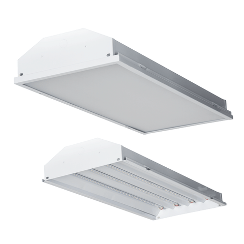 2FT LED HIGH BAY WITH LENS, 100W,5000K,13000 LM Architectural Luminance