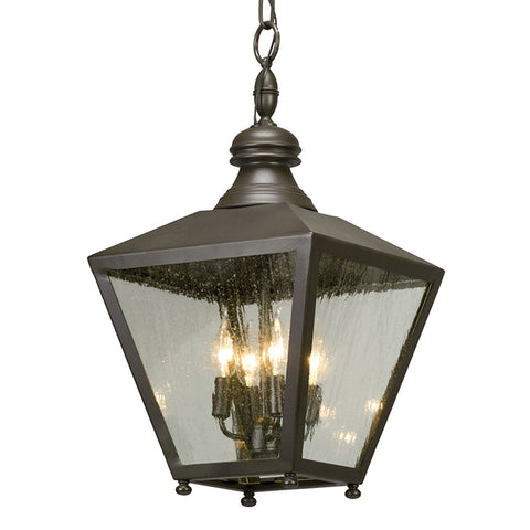 Mumford 4 Light Hanger Lantern Large - Bronze Outdoor Troy