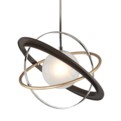 Apogee 1 Light Pendant Medium - Two-Tone Ceiling Troy