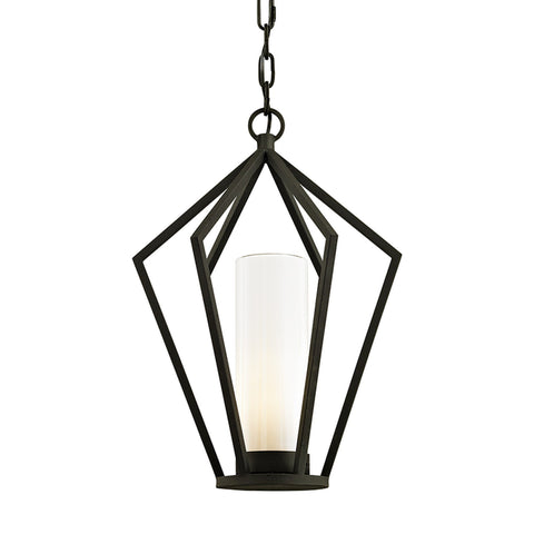 Whitley Heights 1 Light Hanger - Textured Black Outdoor Troy