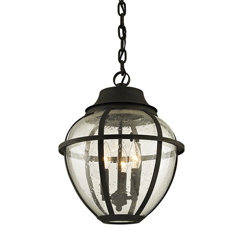 Bunker Hill 3 Light Hanger - Vintage Bronze Outdoor Troy
